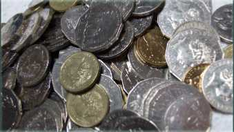 Picture of some coins.